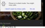 Исправлено: телефон находится в режиме без звука в смартфонах Galaxy S —