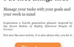 WeekPlan: Еженедельный Планировщик Задач с Целями в Мыслях