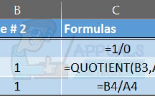 Как обрабатывать # Div / 0! Ошибки в Excel —
