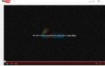 Исправлено: Произошла ошибка, пожалуйста, попробуйте позже YouTube —