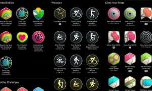 Как получить каждый значок и вызов достижения Apple Watch Activity