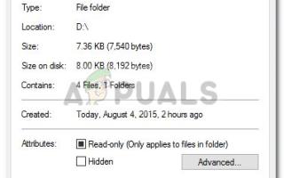Как исправить то, что папка снова становится доступной только для чтения в Windows 10 —