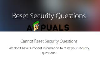 Как устранить проблемы Сброс вопросов безопасности Apple ID —