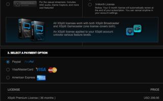 5 причин отказаться от OBS и купить лицензию XSplit