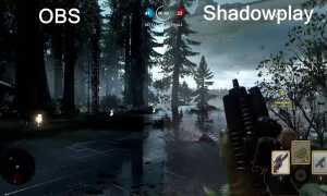 Shadowplay против OBS —