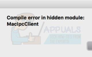 Как исправить ошибку Компиляция ошибки в скрытом модуле на Word для Mac —