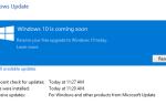 Остановите загрузку и установку Windows 10 на устройстве Windows 7 или 8