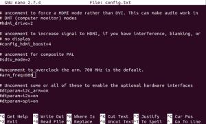3 способа отредактировать файл boot / config.txt на Raspberry Pi