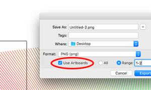 Как сохранить файлы Adobe Illustrator в других форматах: JPEG, PNG, SVG и т. Д.