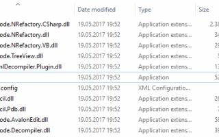 Как декомпилировать (читать исходный код) сборки .NET Framework, используя ILSpy