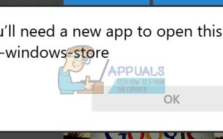 Решено: Вам понадобится новое приложение, чтобы открыть этот магазин MS-Windows —