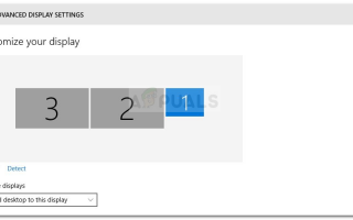 Исправлено: третий монитор не обнаружен в Windows 10 —