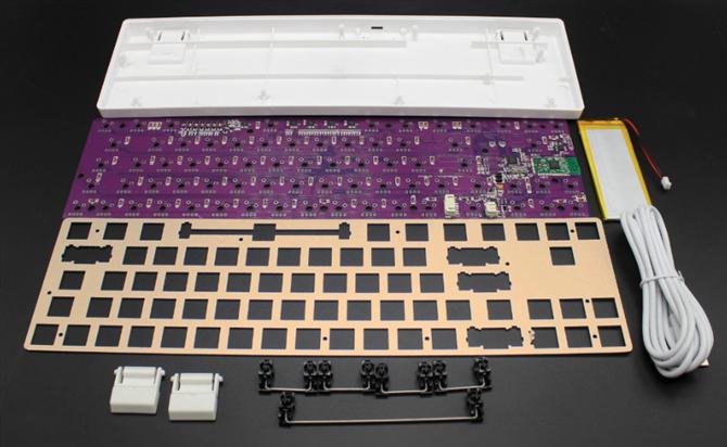 создать пользовательскую механическую клавиатуру с помощью набора