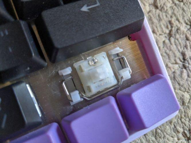 построить нестандартную механическую клавиатуру - стабилизатор