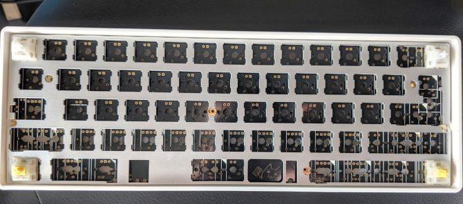 сборка механической клавиатуры на заказ - переключатели