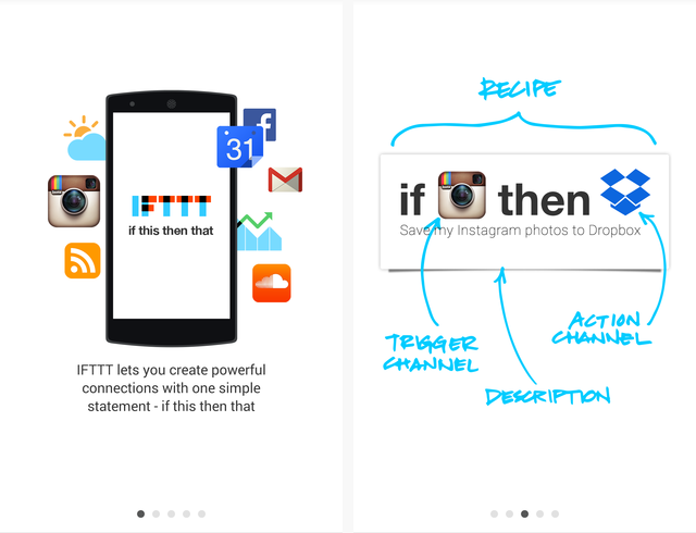 IFTTT Android Intro