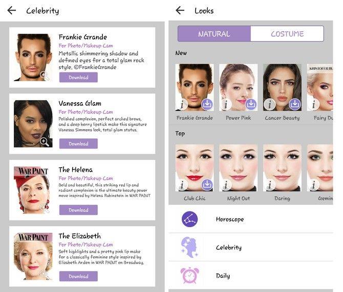 образцы макияжа youcam