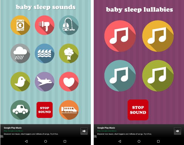AndroidBabyApps-Baby-сон-Sounds