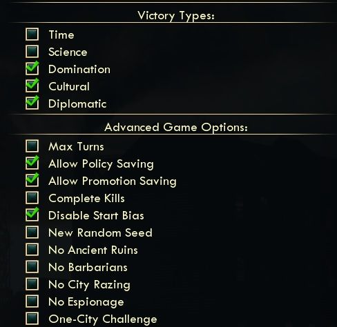 Civ5-Advanced-Setup