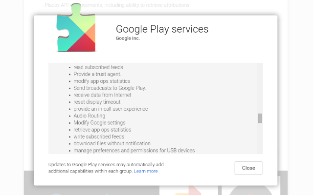 AndroidWithoutGoogle-Play-Services-разрешение