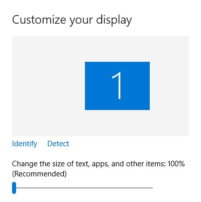 Windows 10 настроить размер экрана