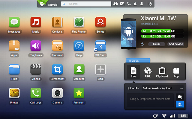 AirDroid-3-Best-Android-клиент-For-PC-Mac-Linux-Web-Toolbox-Web-приложение