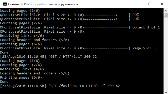 Как создать PDF из HTML в Django