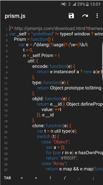 Top 7: Лучшие бесплатные редакторы кода приложений для Android