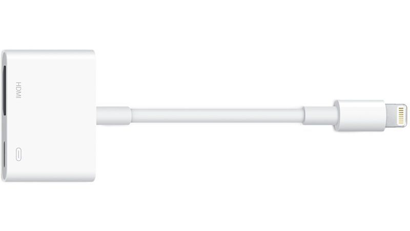 Как подключить iPad или iPhone к телевизору: Apple Lighning AV Adapter