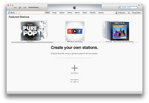 iTunes Radio UK