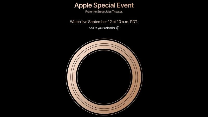 Как пересмотреть Apple's 12 September 2018 iPhone XS Launch Event