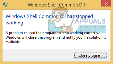 Windows DLL Common DLL перестала работать