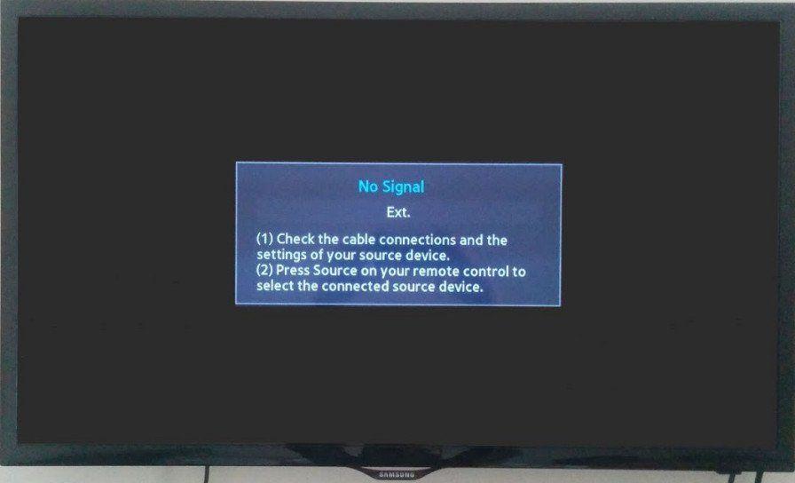Телевизор не подключается к компьютеру через HDMI